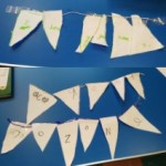 The children made banners to tell us how much they love Jozone
