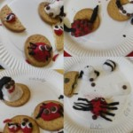 We got creative and made some bugs out of icing.