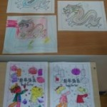 Our Chinese New Year colouring pictures
