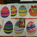 We held an Easter Colouring competition