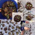 We got messy making these firework jazzies for Diwali