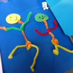 We had fun making pipe cleaner people