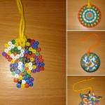 We enjoyed making these Hama bead medals