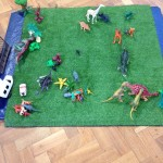 Some of our children built a Jurassic world