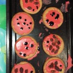To starts off our Minibeast week we made Ladybird biscuits