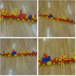 Here is a fantastic model one of our children made out of the mobilo