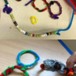 more for child talent week, pipe cleaner craft