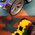 building vehicles with the giant polydron