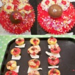 we enjoyed making these red nose day cakes.