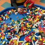 Having fun with the Lego