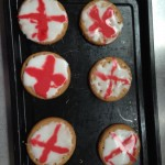 We decorated biscuits for St Georges day
