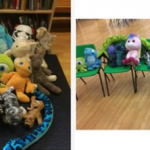 our teddy bears enjoying a picnic
